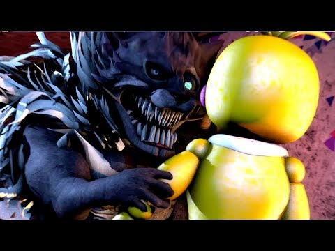 FNaF Toy Chica VS. Twisted Wolf