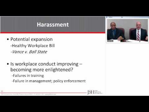 Webinar Recording: Employment Issues That Should Keep You Up At Night