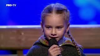 "Download Romanii au talent 2018: Amelia Uzun si Anca Cernicova - Interpreteaza piesa ""Once Upon a December"" Mp3 and Videos"