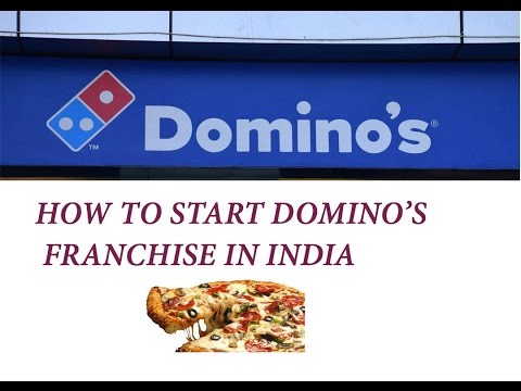 How To Apply For Dominos Pizza Franchise In India Youtube