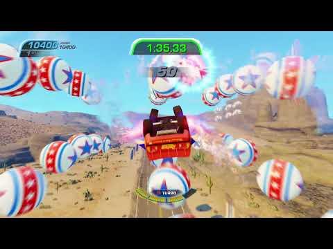 Cars 3: Driven To Win - Lightning McQueen - Stunt Showcase #5 [1080 FullHD] - Disney Pixar Cars