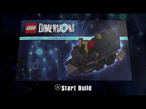 LEGO Dimensions 71230 Doc Brown Travelling Time Train Build Instructions