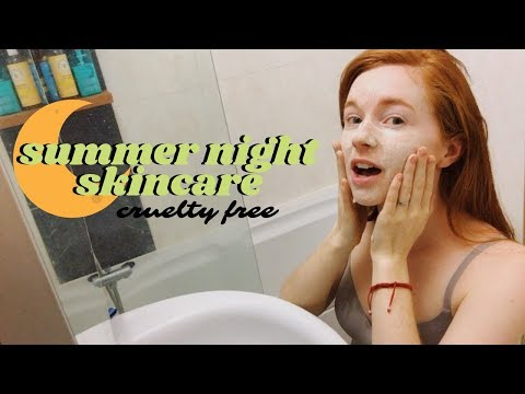 Summer Night Skin Care Routine (Cruelty Free!) 🐰 thumbnail