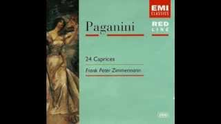 Niccolo Paganini -- 24 Caprices, Op.1 (Frank Peter Zimmermann, violin)