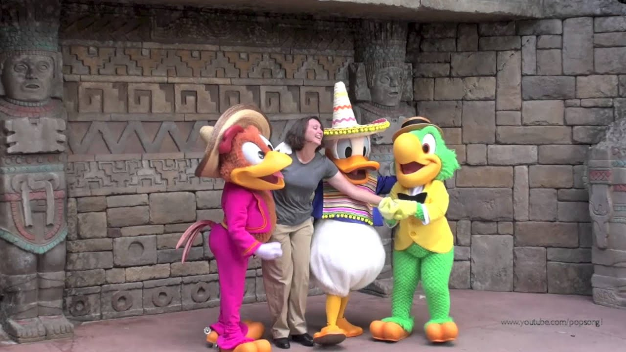Limited time magic three caballeros character meet and greet at limited time magic three caballeros character meet and greet at epcot walt disney world m4hsunfo