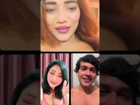Hot🔥 Threesome LIVE - With Ma Buddies | Rajsi Verma | shakespeare | Ruks Khandag