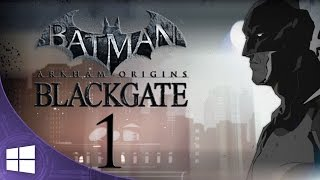 Batman Arkham Origins: Blackgate (ITA) -Il Film- Parte 1 [1080p 60fps]