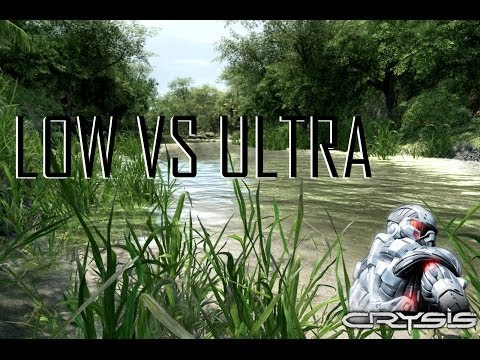 Low Vs Ultra - Crysis - Graphical Comparison GTX780 Superclocked ACX
