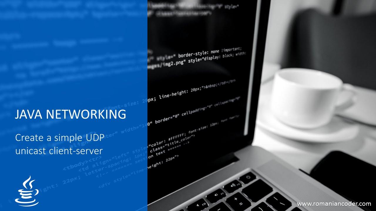 Create a simple UDP client-server in Java