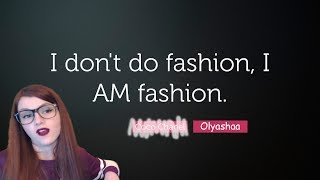 Olyashaa  Fashion vlog- Оляша смывает косметику на стриме