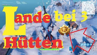Fortnite Erziele 3 Punkte Bei Schieaÿsta Nden - fortnite lande bei 3 ski hutten wochentliche herausforderung woche 3