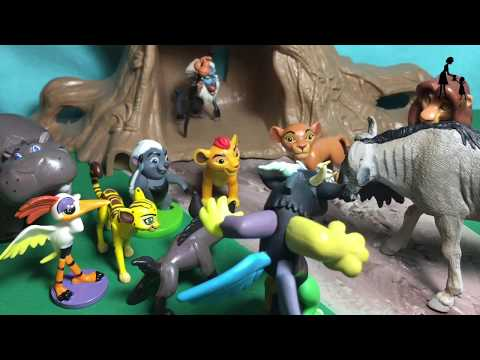 Janja, Discord, and Kazar journey home! Disney the Lion Guard, MLP, and the Wild (episode 5)