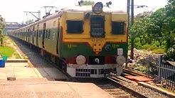 37057/ Up Seoraphuli EMU Local//  37917/ UP katwa Local Crossing Bally Station