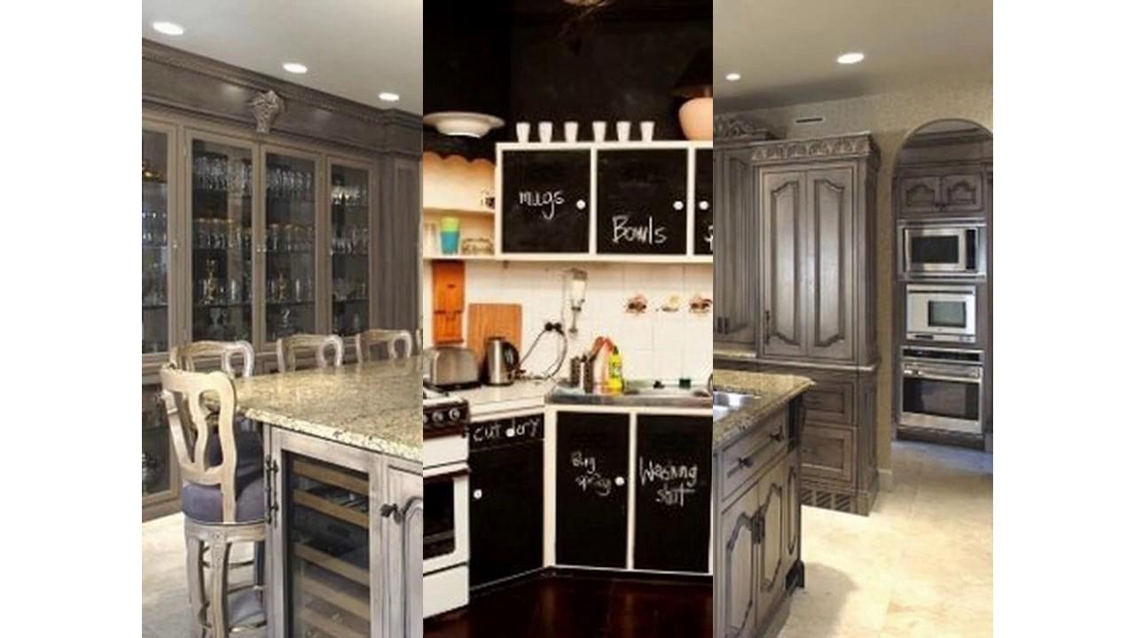 Küchenschränke malen ideen - YouTube