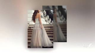 2015 сексуальная линия пром платья кристалл бусины свадебные платья noche вечерние ну вече