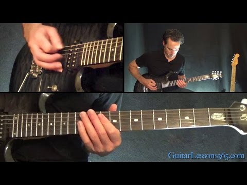 Metallica - Spit Out The Bone Guitar Lesson (Part 1)