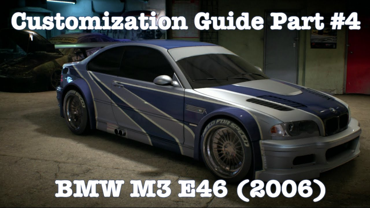 need for speed bmw m3 e46 2006 deluxe edition customization guide part 4 youtube. Black Bedroom Furniture Sets. Home Design Ideas
