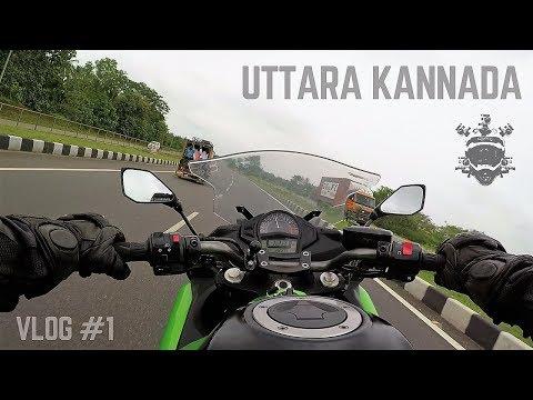 Bangalore to Yellapur - Uttara Kannada Ride - Vlog 1 - Riding Ninja 650 for the first time