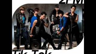 2PM - Tik Tok + Lyrics