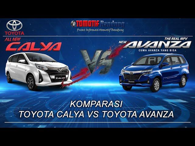Komparasi Toyota Calya vs Toyota Avanza - Otomotif Bandung