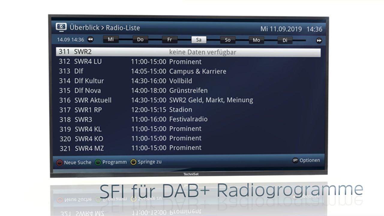 Video: Noch mehr Komfort beim Radiohören mit kostenlosem Update. | SONATA 1 | TechniSat