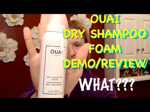ouai---dry-shampoo-foam-demo/review---mid-week-quickie