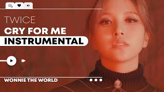 Download TWICE - CRY FOR ME | Instrumental
