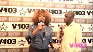 Chaka Zulu At The V-103 Hip Hop Conference With Ramona DeBreaux