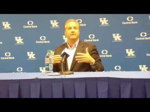 John Calipari Kentucky Basketball Media Day Press Conference