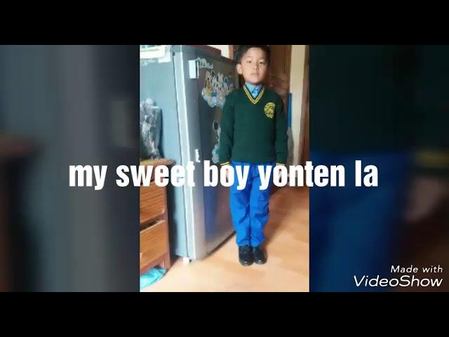 My boy yonten