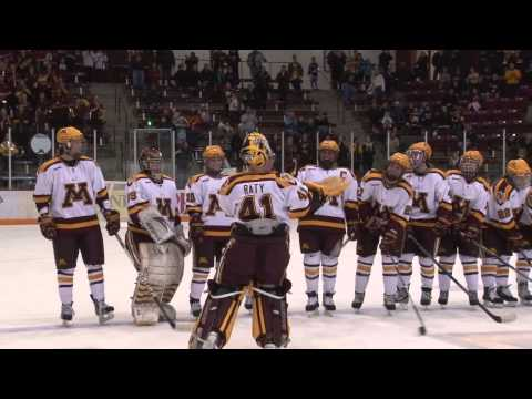 Minnesota Claims Seventh WCHA Regular Season Title