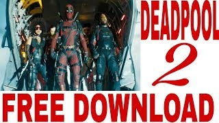 Download Deadpool 2 movie in Hindi free / dual audio free download DEADPOOL 2 movie in Hindi free