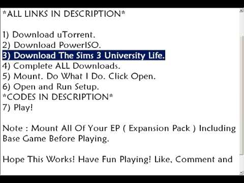 Download The Sims 3 University Life Full Crack