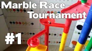 Mega Marble Race Tournament #1