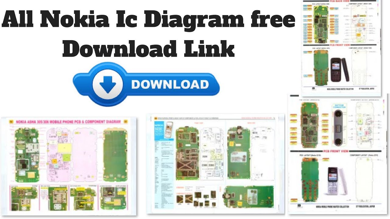 All Nokia Ic Diagram free Download Link  YouTube