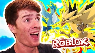 ARTICUNO & ZAPDOS! / Pokemon Legends / Roblox Adventures