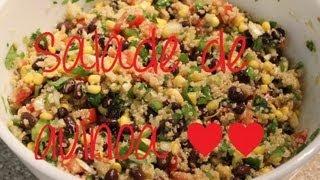 Recette - Salade de quinoa