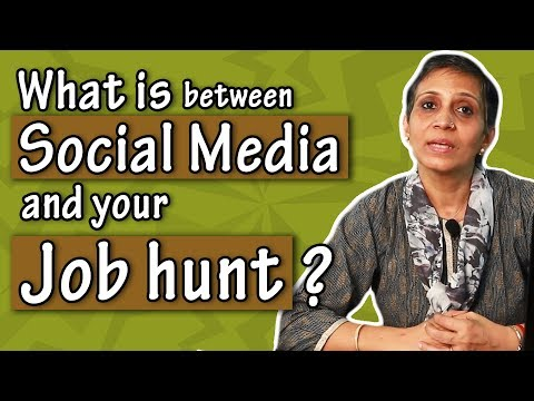 What is Between Social Media and Your Job Hunt?  l skillActz l Personality Development Training l