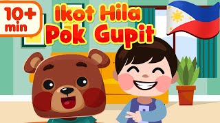 Ikot Hila Pok Gupit Filipino Rhymes | Awiting Pambata Compilation Song