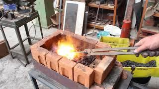 Forja a carvão - Coal forging - Forja a carvão coque