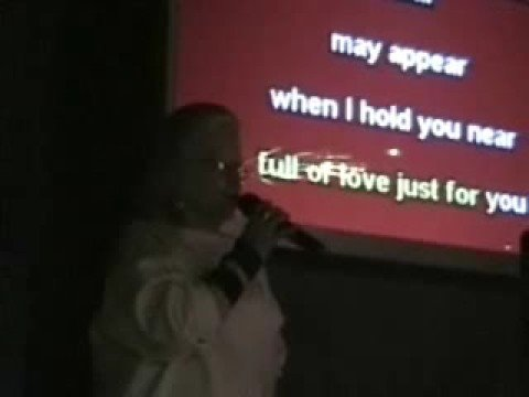 Montana Sings Karaoke