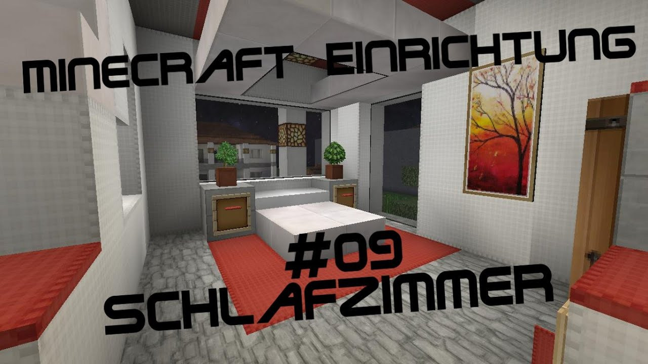 minecraft einrichtung mit jannis gerzen 09 schlafzimmer tutorial youtube. Black Bedroom Furniture Sets. Home Design Ideas