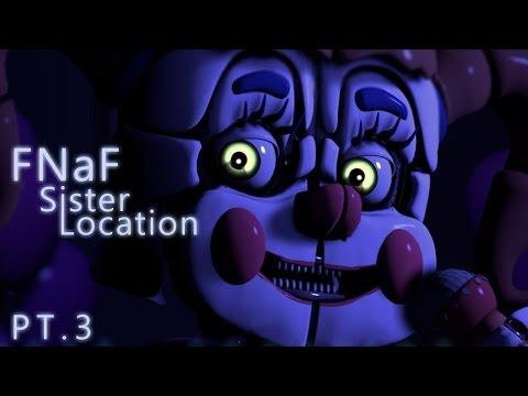 【ㄒㄅ實況】FNaF: Sister Location 英文聽力測驗 pt.3 (Night5)