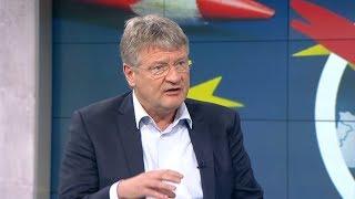 """WELT INTERVIEW: Meuthen - """"Wenn wir dahin kommen, dann sagen wir Dexit"""""""