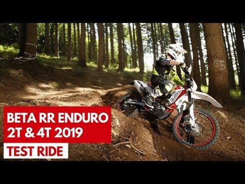 Beta RR Enduro 2 Stroke & 4 Stroke 2019 | Test ride della nuova gamma con l'attesa 200 2T