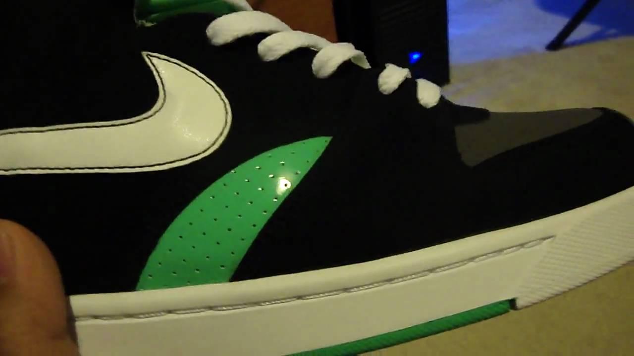 b6c2ade86 Nike RT1 High Black   White   Azure   Dark Gray - YouTube