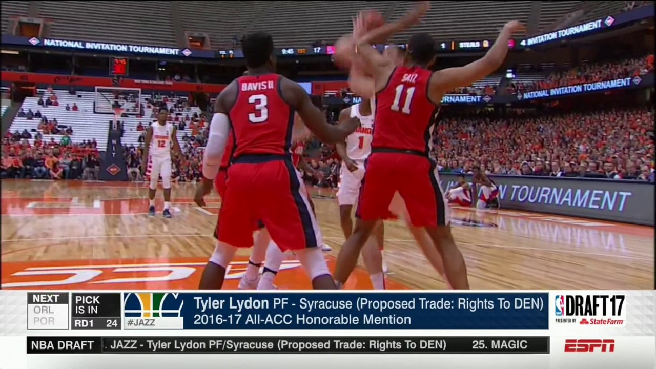 watch 0503d 8333a Tyler Lydon Selected in NBA Draft