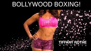 Bollywood Boxing! Boxing/belly dancing (Burn Fat) | TiffanyRotheWorkouts