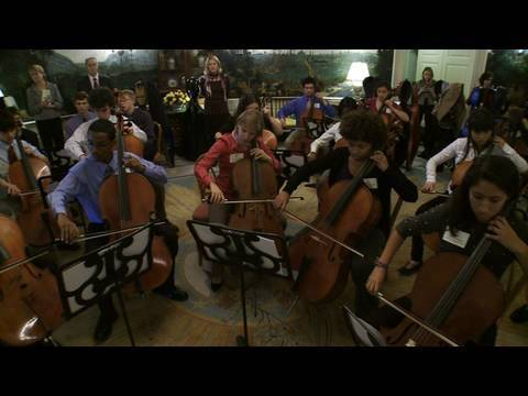 Classical music workshops at the white house youtube for Orchestral house music