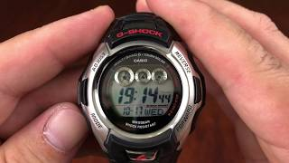 How To Set Up Casio Watch - Solar Atomic G Shock
